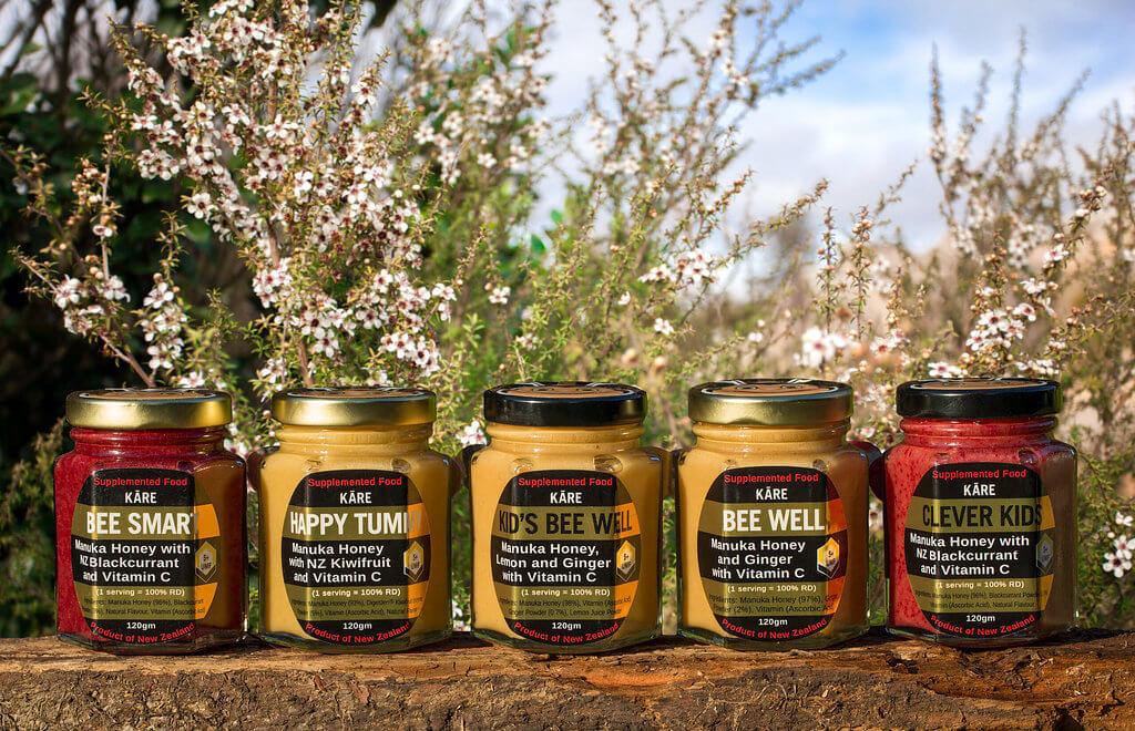 Manuka tonics - UMF5+ Manuka honey with NZ Bioactive ingredients